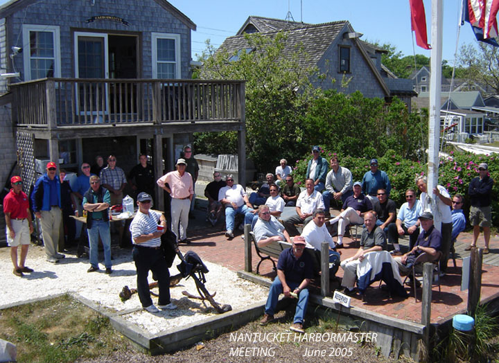 The annual June Nantucket Harbormaster Meeting
