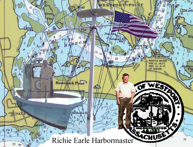 H.M.Richie Earle in Harbormaster patrolboat.